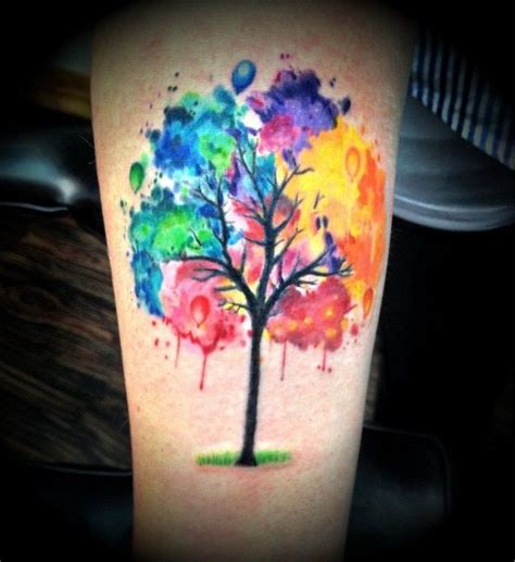 watercolor tattoo portland 1000 ideas about watercolor tree on