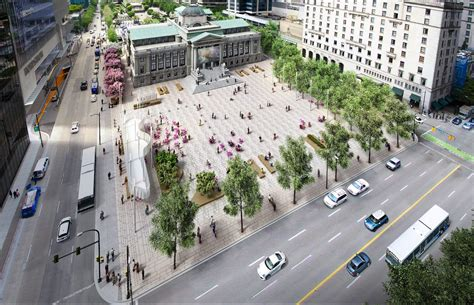 home vega plaza design new vancouver art gallery plaza design revealed urbanyvr