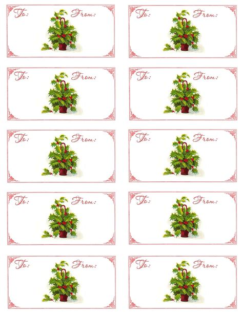 Printable Sheet Of Christmas Tags | the graphics monarch christmas printables digital gift