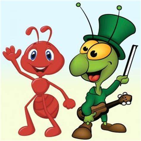 imagenes infantiles hormigas f 225 bulas para ni 241 os la cigarra y la hormiga