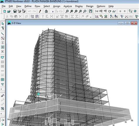 tutorial sap 2000 v15 bahasa indonesia desain gedung bertingkat dengan menggunakan etabs dan sap