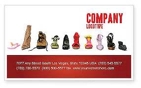 shoes business card template s shoes business card template layout