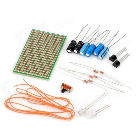 capacitors resistors 18 in 1 resistor capacitor transistor set for diy led circuit worldwide free