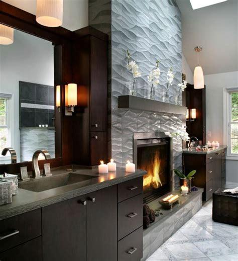 17  Modern Fireplace Tile Ideas, Best Design !!   Spenc Design