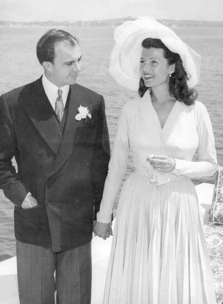 Rita Hayworth, 1949 - The Most Gorgeous Royal Wedding