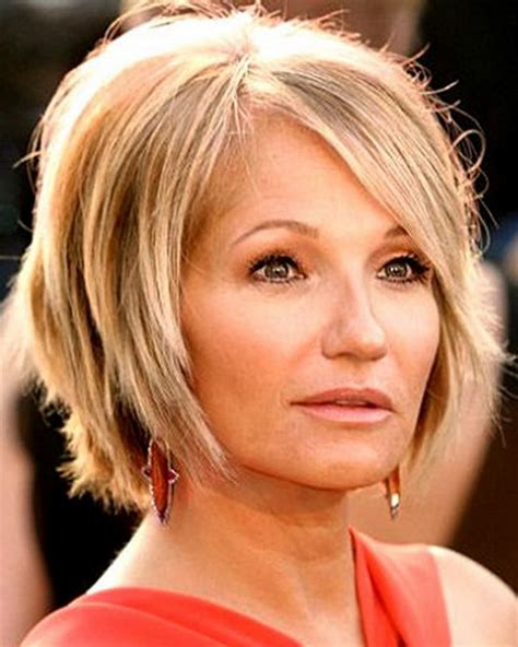 cute haircuts for 40 year olds with round face hairstyles for women over 40 years old