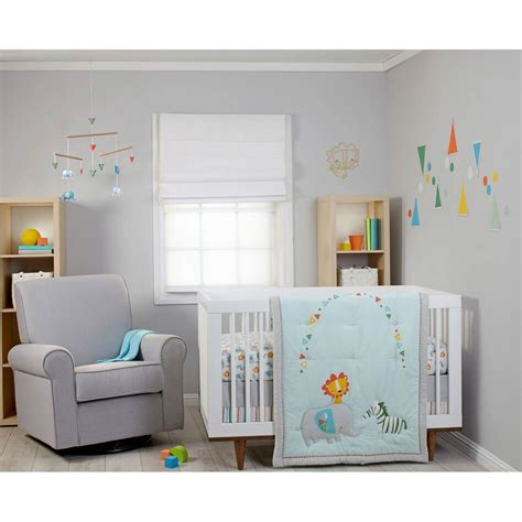 Zutano Crib Bedding Zutano Blue Juba 5 Pc Crib Bedding Set Crib Sets Baby Toys Shop The Exchange