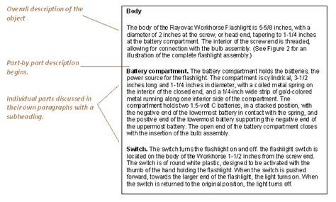 Description For Technical Writer by Technical Writing Description
