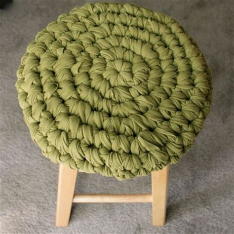 Bar Stool Cover Pattern by Crochet Bar Stool Cover Pattern Free Crochet Patterns