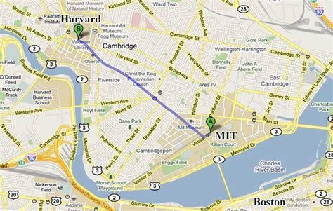 mit map カリフォルニア発 toshiのアメリカ見聞録 サイクリング to harvard大学
