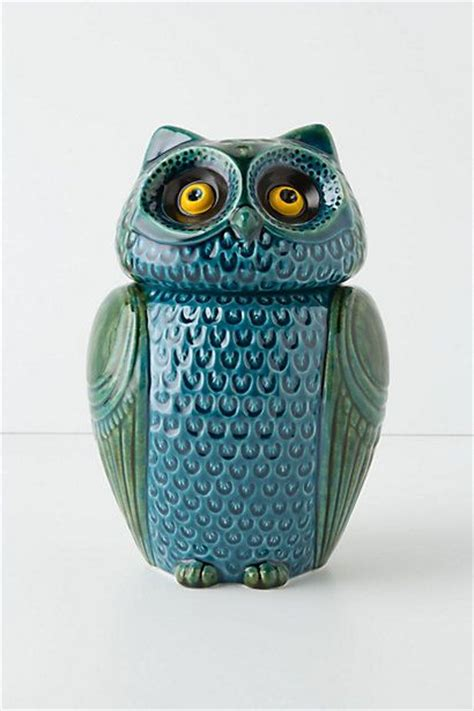 owl canister set birds
