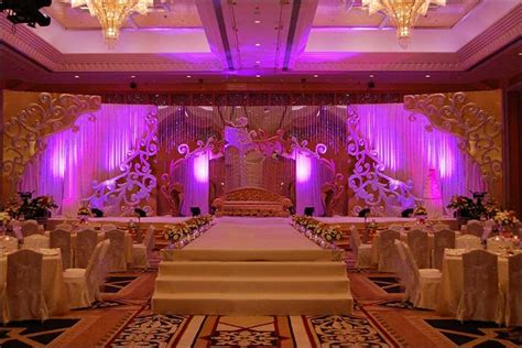 Wedding Reception Background Decorations by Wedding Backdrops 25 Stage Sets For A Tale Wedding
