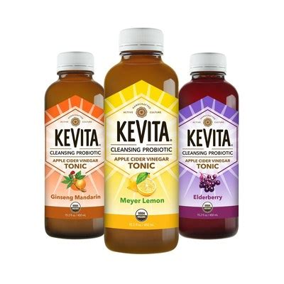 Kevita Detox by Kevita Revitalizes The Vinegar Trend With Three