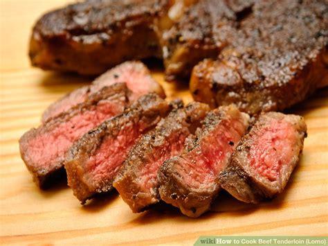 3 ways to cook beef tenderloin lomo wikihow