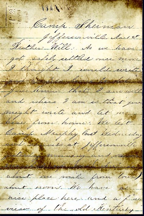 civil war letters the genealogy center presents our heritage best 1128