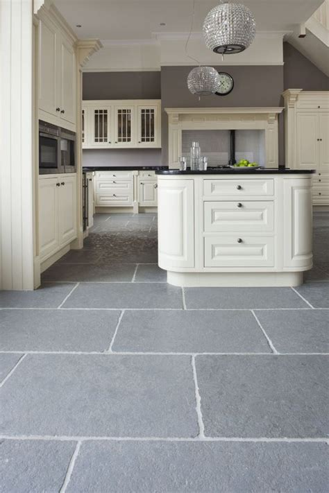 gray tile kitchen floor 32 grey floor design ideas that fit any room digsdigs