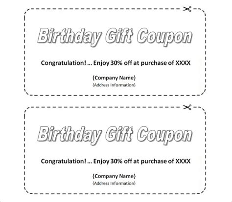 28 Homemade Coupon Templates Free Sle Exle Format Download Free Premium Templates Coupon Maker Template