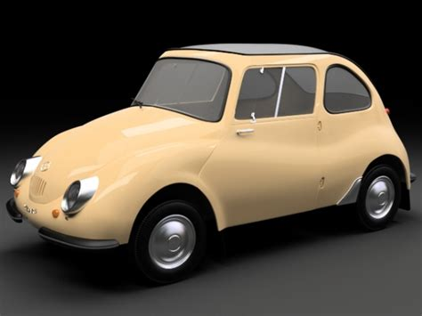 Early Subaru Models here s a beautiful 3d model of an early subaru 360