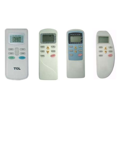 Ac Tcl tcl air conditioner remote manual air conditioner guided