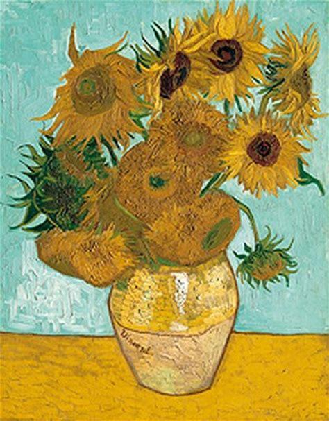 vase with twelve sunflowers c 1888 print by