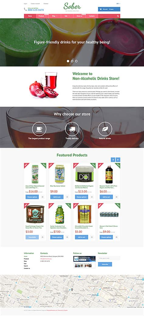 shopify themes food template 55742 ensegna themes