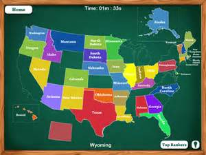 State Map Game by 50 States Map Game