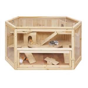 cabane en bois pour lapin mzaol