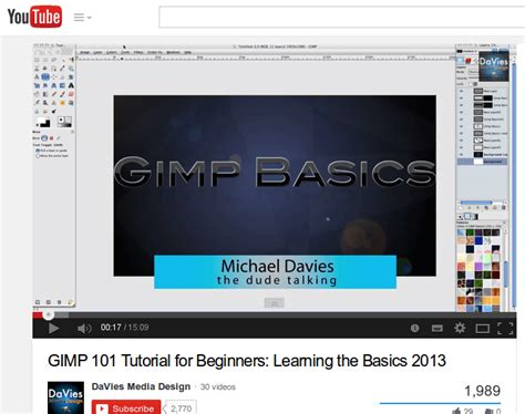 tutorial gimp basic learn gimp from greenhorn to guru in 19 lessons