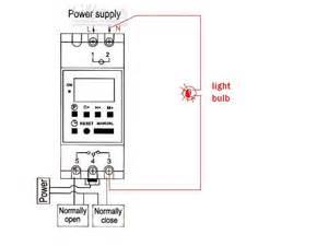 digital timer thc15a wiring
