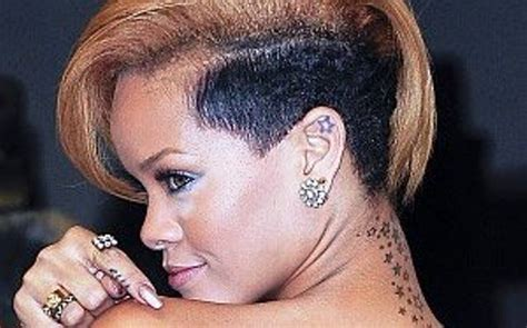 star tattoo behind right ear meaning rihanna s 24 tattoos their meanings body art guru