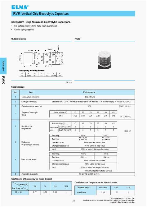 100uf 50v electrolytic capacitor datasheet 0526035410m 2463050 pdf datasheet ic on line