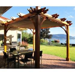 Pergola Outdoor Living by Outdoor Living Today Bz810wrc 8 Ft X 10 Ft Breeze Pergola