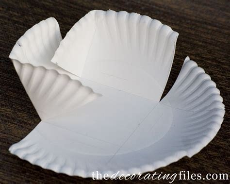 How To Make A Phlet Out Of Paper - diy crafts containers from paper plates