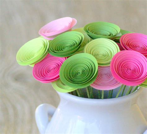 Handmade Flowers With Paper - 5 diy to save money on your wedding boo
