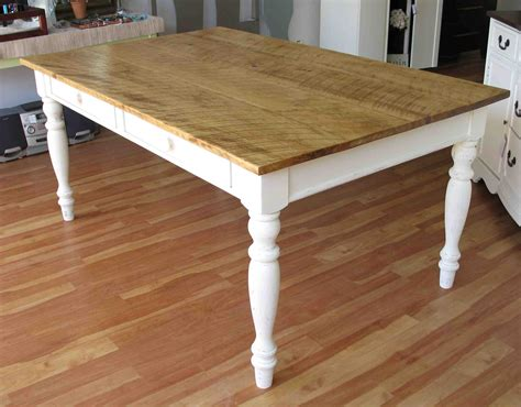 pin farmhouse kitchen table plans on