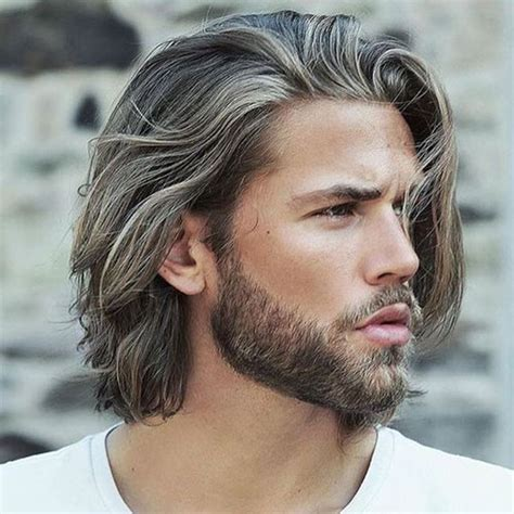 mens hairstyles when growing hair out how to grow your hair out long hair for men
