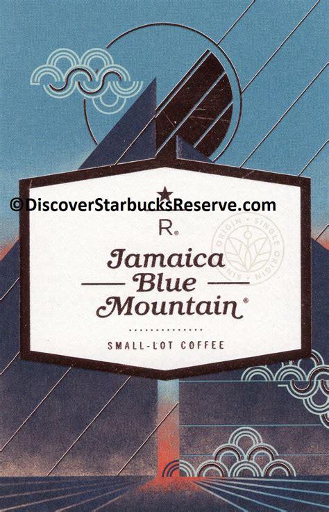 Starbucks Card Indonesia Saldo 0 Black Seattle 2016 Seri Ke 2 jamaica blue mountain discover starbucks reserve
