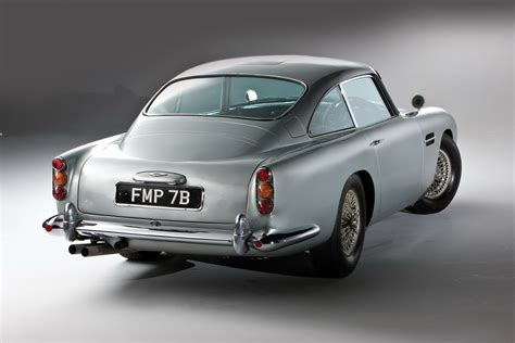 aston martin back james bond s original aston martin db5 up for sale