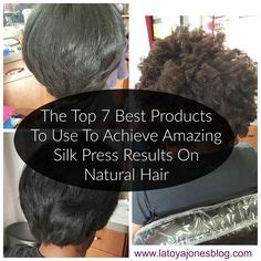 silk press hair at home search hair
