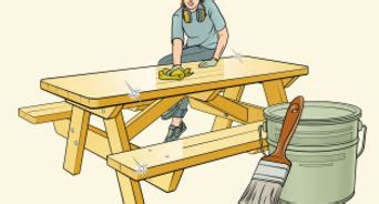 build   table  steps  pictures wikihow