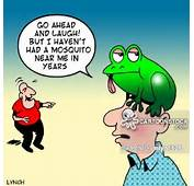 Mosquito Cartoons And Comics  Funny Pictures From CartoonStock