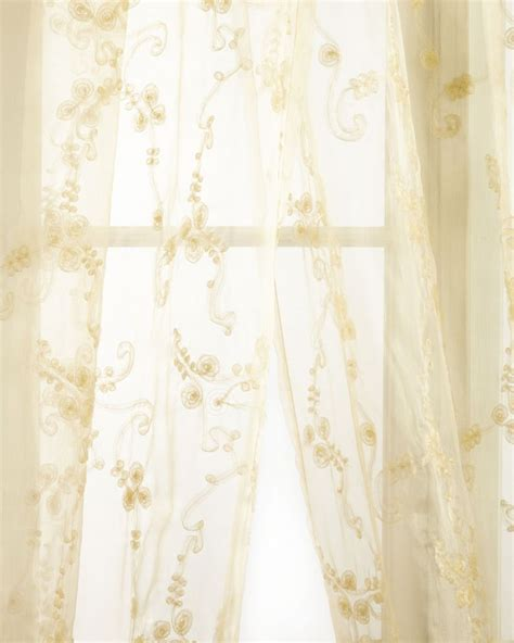 organza curtain crystal palace organza sheer curtain sweet dreams