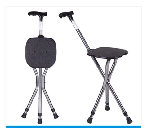wandlen metall 금속 공예 사망 saat 미끄럼 스틱 된 지팡이 노인 목발 의자 좀 버팀목 의자 접이식 휴대용 지팡이