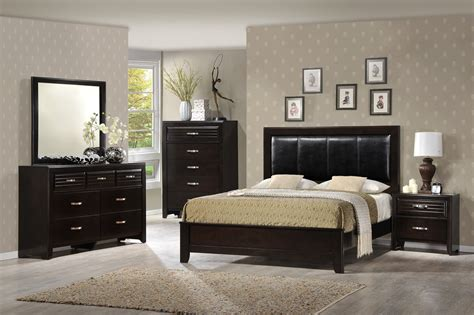 crown mark bedroom furniture crown mark furniture jocelyn bedroom set in dark brown