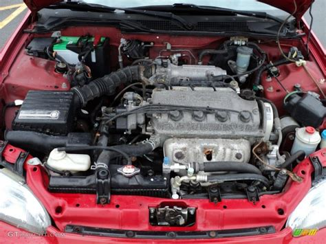 1995 honda civic ex coupe 1 5l sohc 16v 4 cylinder engine