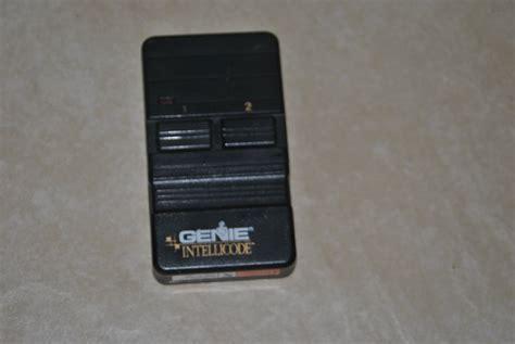 Genie Garage Door Opener Intellicode Genie Intellicode Gic902 Garage Door Opener Jun17 4