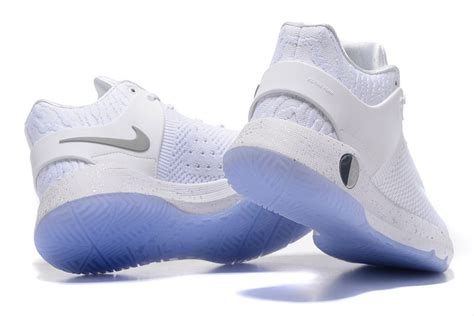 nike and white basketball shoes nike kd trey 5 iv premium white blue basketball shoes sale