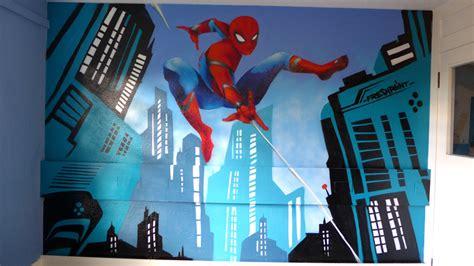 spiderman graffiti bedroom perth freshpaint