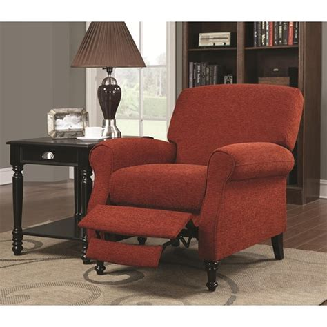red sofa recliner red fabric recliner sofa centerfieldbar com