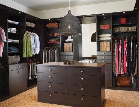 Black Knobs For Kitchen Cabinets by Walk In Closets Designs Amp Ideas By California Closets